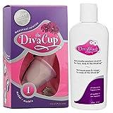 DivaCup Model 1 +  Diva Wash 6 oz