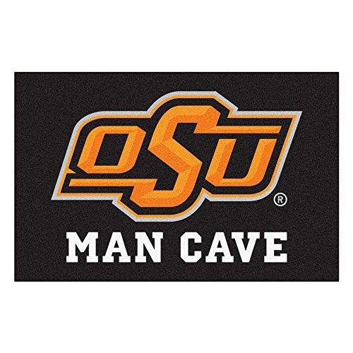 FANMATS 14588 Oklahoma State University Nylon Universal Man Cave Starter -