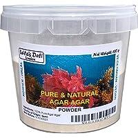 Gelatina vegetal pura y natural Agar Agar (1 x 100 g) (medio bote