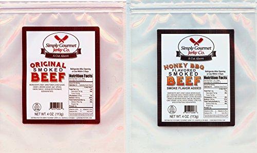 Beef Smoked (Smoked Beef Jerky (Honey BBQ and Original Combo))