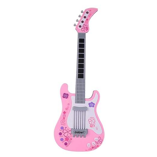 Toyvian niño Guitarra eléctrica bebé Musical Instruments éducatifs ...