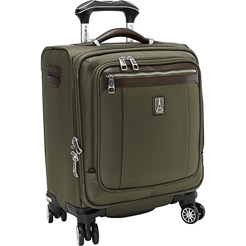 Travelpro PlatinumMagna2 Spinner Carry On Luggage Tote, 16-in., Olive