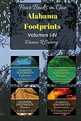 ALABAMA FOOTPRINTS - Volume I - IV: Four Volumes in One (Volume 1-4)