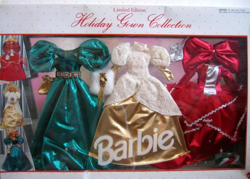 Barbie Holiday Gown Collection Limited Edition Fashions - Easy To Dress (1992 Arcotoys, Mattel) by Barbie