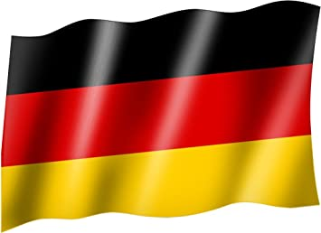 Flaggefahne Deutschland Staatsflaggelandesflaggehissflagge Mit