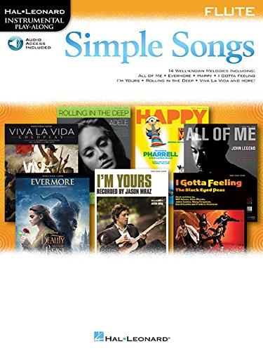 Simple Songs: Flute (Hal Leonard Instrumental Play-Along)