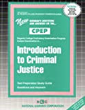 Introduction to Criminal Justice, Rudman, Jack, 0837354293