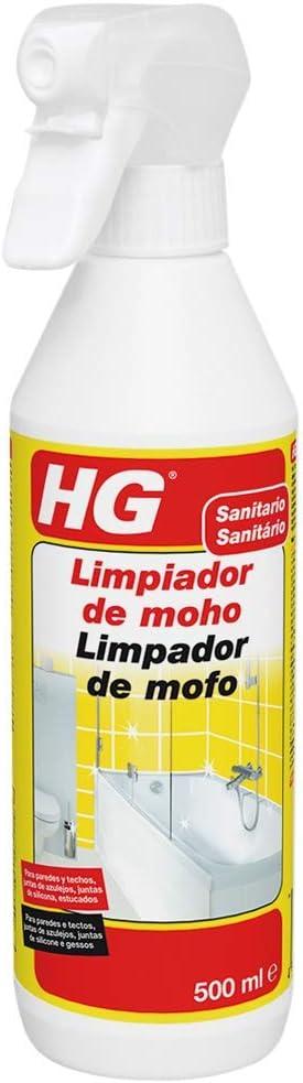 HG Limpiador de moho 500 ml – Espray destructor de moho muy eficaz: Amazon.es: Bricolaje y herramientas