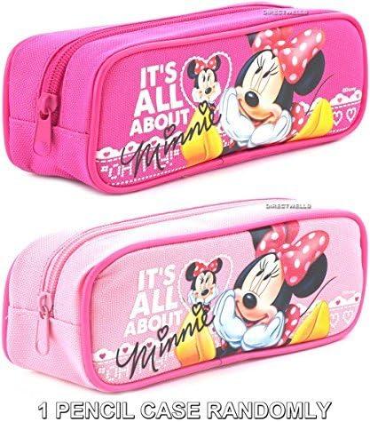 Disney Minnie Mouse Its All About Minnie - Estuche para lápices (1 estuche), color rosa o rosa: Amazon.es: Hogar