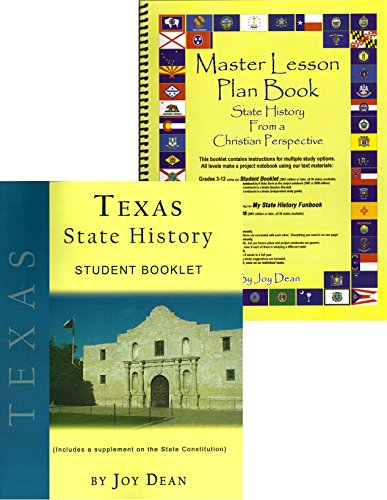 Texas State History from a Christian Perspective (Complete for sale  Delivered anywhere in USA