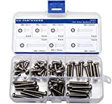 M5 Tamper-Resistant Security Screws Assortment Kit, Stainless Steel,Pack of 52-pieces