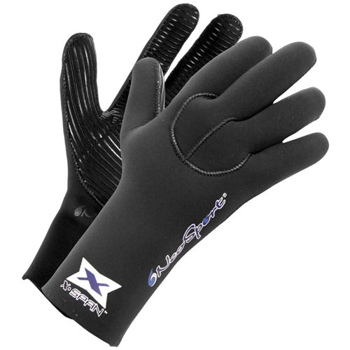 NeoSport 5-mm XSPAN Glove (Black, Small) - Diving, Snorkeling & Waterskiing