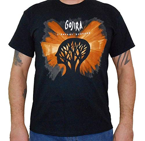Hardcore Apparel Gojira (L'Enfant Sauvage) Men's T-Shirt Black