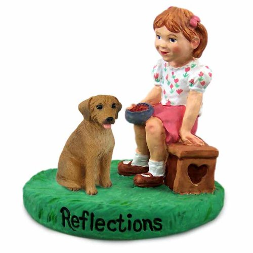 Conversation Concepts Rhodesian Ridgeback Reflections w/Girl -
