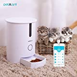 Smart Automatic Pets Feeder For Cats With WiFi Controled Easy Operated Healthy Dry Food Dispenser