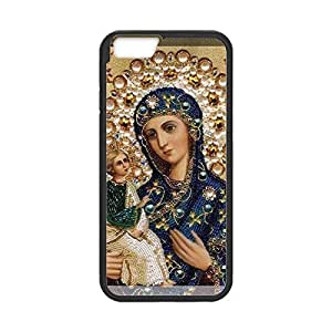 Great Orange Virgin Mary Christian 1 and influenza Child Baby Jesus Anti-Skid in Slim & Lightweight TPU Case Shell Cover for iphone 5s