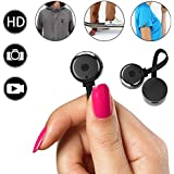 Hidden Camera, Spy mini Cameras,HD 720P Smallest Nanny Cam Portable Video Recorder with Motion Detective Perfect Outdoor Covert Pocket Camcorder for Home surveillance