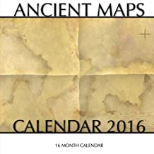 Ancient Maps Calendar 2016: 16 Month Calendar