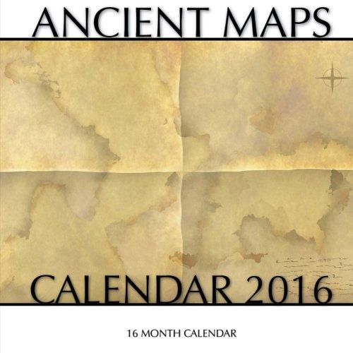 Ancient Maps Calendar 2016: 16 Month Calendar