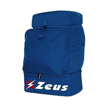 Zeus Zaino Qubo Mochila De Deporte Mochile De Gimnasio Mochile De Futbol Mochile de Basket 100% Nylon 33 x 22 x 50 cm Pegashop (ROYAL): Amazon.es: Deportes ...