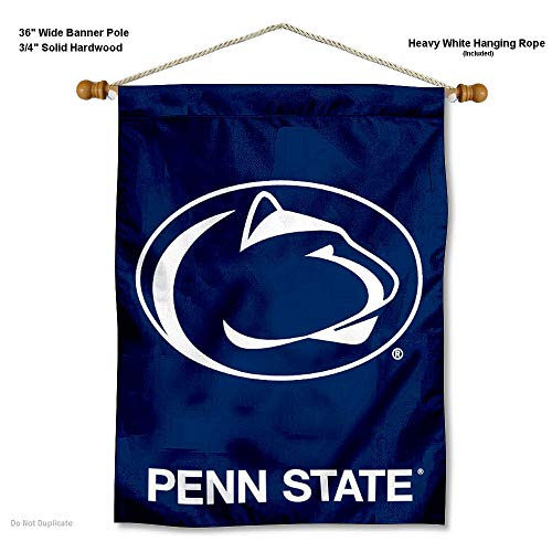 Penn State Nittany Lions Banner with Hanging Pole