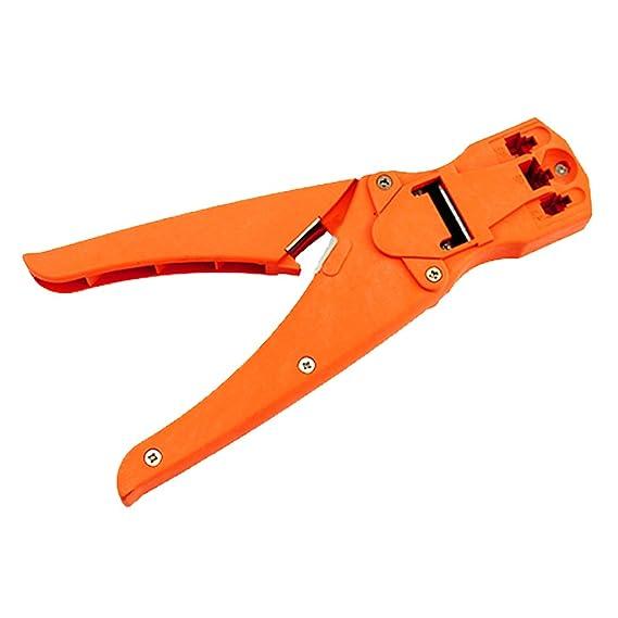 MagiDeal 3 En 1 Herramienta de Crimpado RJ45 1211 Red Cable Coaxial Herramienta de Crimper: Amazon.es: Bricolaje y herramientas