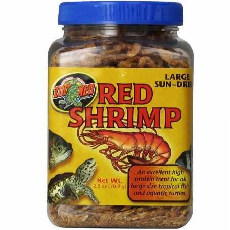 - Zoo Med Large Sundried Red Shrimp (2.5 oz)