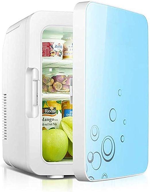 Mini refrigerador de 10L, pequeño refrigerador de coche de 12 V ...