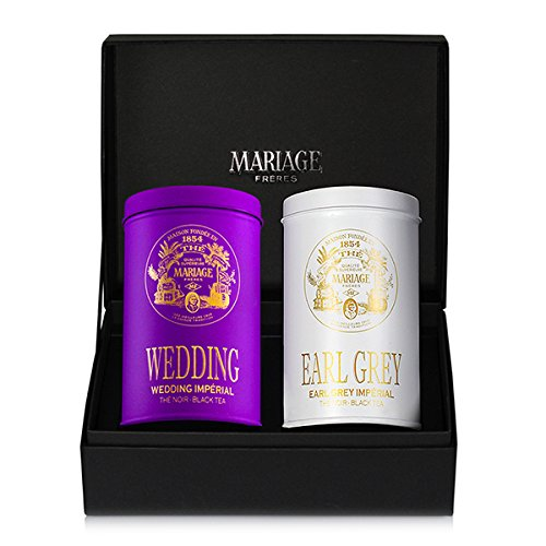 IMPÉRIAL 2 black teas gift set Wedding Impérial®&Earl grey Impérial®