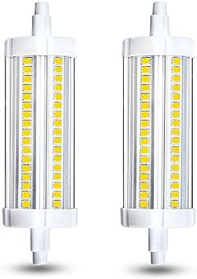 Klarlight 15 Watt T3 R7s Led 118mm J118 Halogen 150 Watt Equivalent Daylight Double Ended Led Light Bulbs 120v Quartz Tube Lamps Replacement For Security Floor Lamp Amazon Com Au Home Improvement