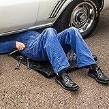 SHL Car Repair Magic Creeper Pad, Magic Creeper Pad Black Automotive Creeper Rolling Pad For Working On The Ground