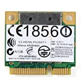 Wireless PCIe Card BGN AR5BHB92 AR9280 Dual-band 2.4/5.0GHz 2x2 MIMO 300 Mbps 802.11b/g/n for DELL Toshiba Acer Sony Samsung Asus etc