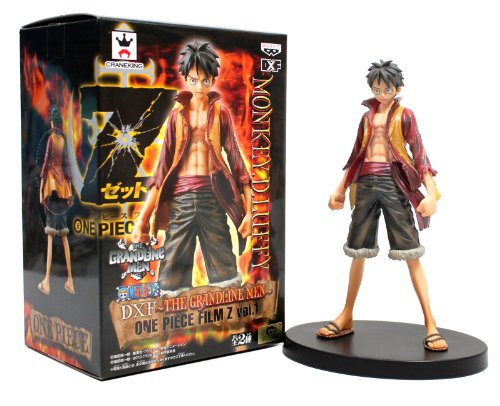 One Piece Monkey D Luffy (Banpresto 48213 Volume 1 Monkey D. Luffy DXF The Grandline Men One Piece Film Z 6