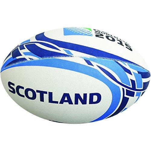Gilbert RWC 2015 Scotland - Balón de Rugby (tamaño 5), diseño ...