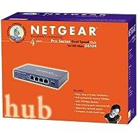 NETGEAR DS104 - Hub - 4 ports - Ethernet, Fast Ethernet - 10Base-T, 100Base-TX - external