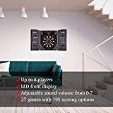 WIN.MAX Electronic Soft Tip Dartboard Set with