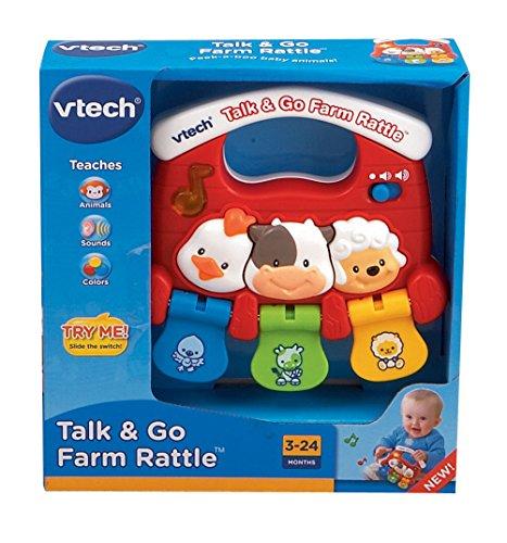 VTech Baby Talk and Go Farm Rattle