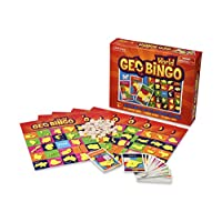 GeoToys - GeoBingo World - Board Games for Kids - Geography Bingo Game Learning Resources and Educational Toys - Kid Toys for Ages 4 and Up