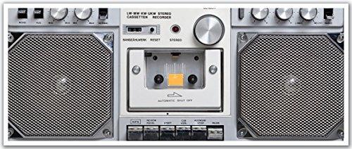 JP London PAN5148 uStrip Retro Tape Boom Box Ghetto Blast...