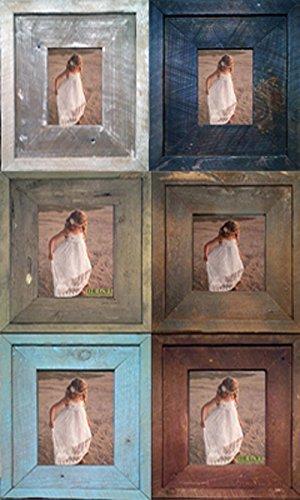 8.5x11 The Loft Signature Handmade Authentic Reclaimed Barn Wood Wall Frame (Sale!) (Inside Measurement)