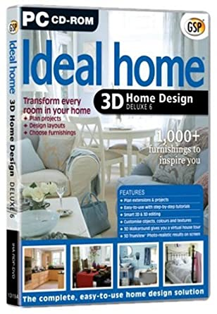 Ideal Home 3d Home Design Deluxe 6 Pc