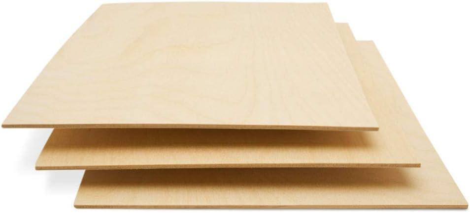 Baltic Birch Plywood 3 mm 1 8 x 12 Wood El Paso Mall 9 of Inch Financial sales sale Box Craft
