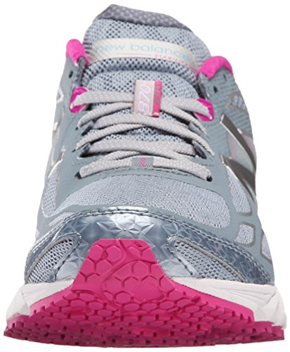 New Balance Womens W870V4 Running Shoe Grey/Purple