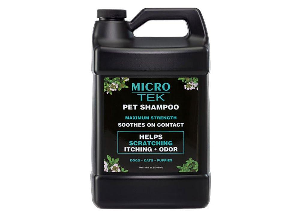 EQyss Grooming Products Micro-Tek Pet Shampoo, 128 oz