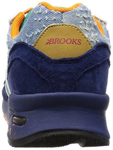 Brooks Heritage Mens Regent Turquoise / Orange / Peacoat 11 D Us