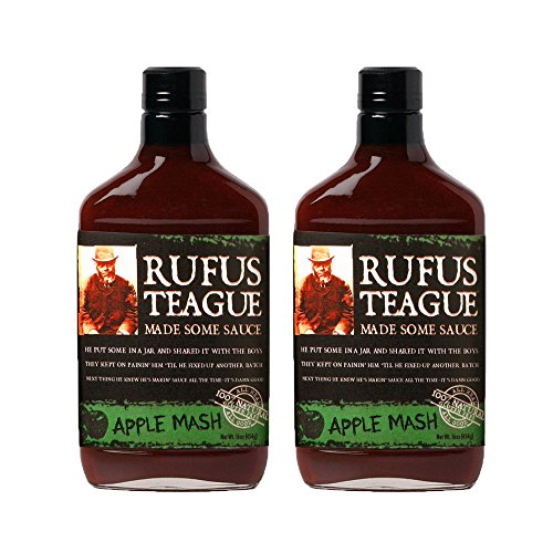 Rufus Teague's Award Winning BBQ Sauces - OU Kosher - Apple