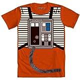 Star Wars I Am Luke Skywalker Flight Suit Mighty Fine Adult Costume T-Shirt Tee
