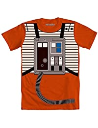 I Am Luke Skywalker Flight Suit Mighty Fine Adult Costume T-Shirt Tee