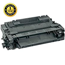 SaveOnMany® HP CE255A (55A) HP55A Black BK 6000 6K Pages Yield Compatible Toner Cartridge For LaserJet P3015X/P3010/P3015/P3015n/P3015D/P3015DN, Pro MFP M521dn/M521dw, Enterprise 500 MFP M525dn/M525f, Enterprise flow MFP M525c