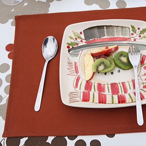 QWERWHH Westliches Essen Mat Wärmedämmung Pad Pad Polsterung Tabelle Matte 32 X 42 cm